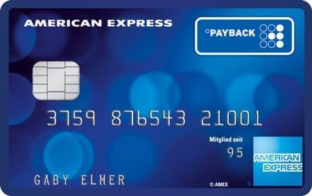 PAYBACK Amex Kreditkarte